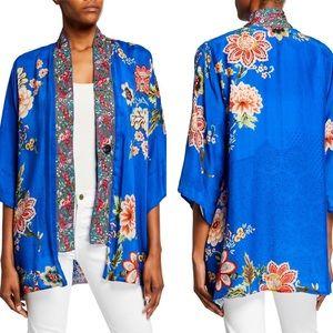 NWT Johnny Was Floral Bonian Embroidered Kimono